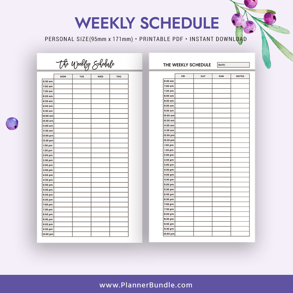 image about Planner Refills identify 2019 Weekly Agenda, Planner Inserts Printable, Particular person Dimension, Planner Refill, Planner 2019, Filofax Unique, Planner Web pages, Planner Style, Most straightforward