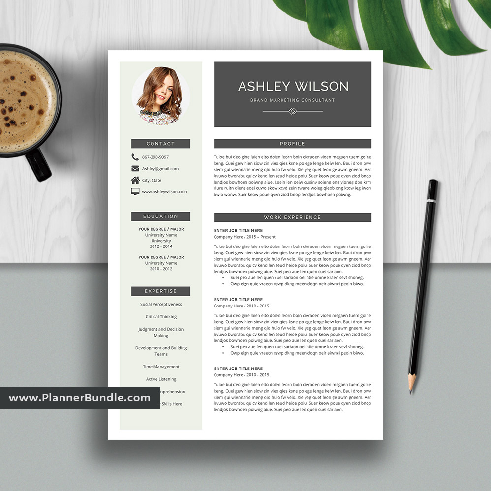 best resume template word  2020 editable cv template