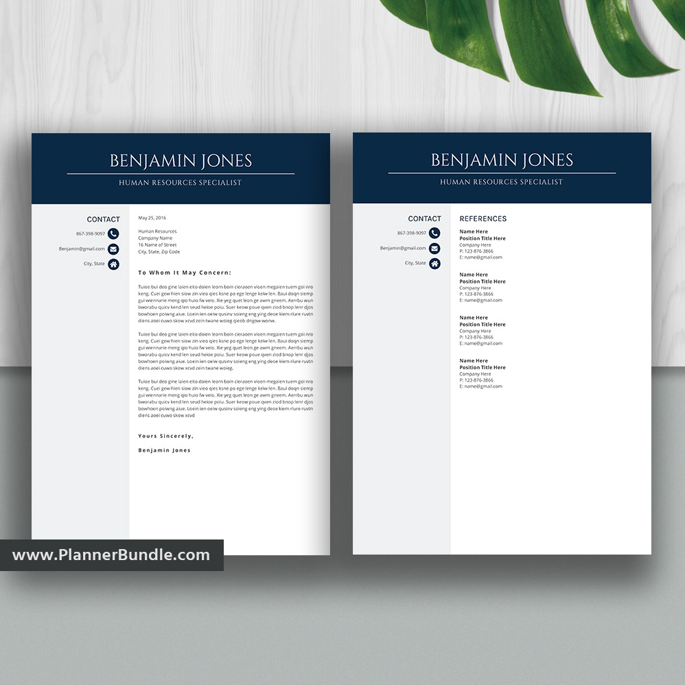 Resume Templates Cv Templates 1 3 Page Ms Office Word Resume