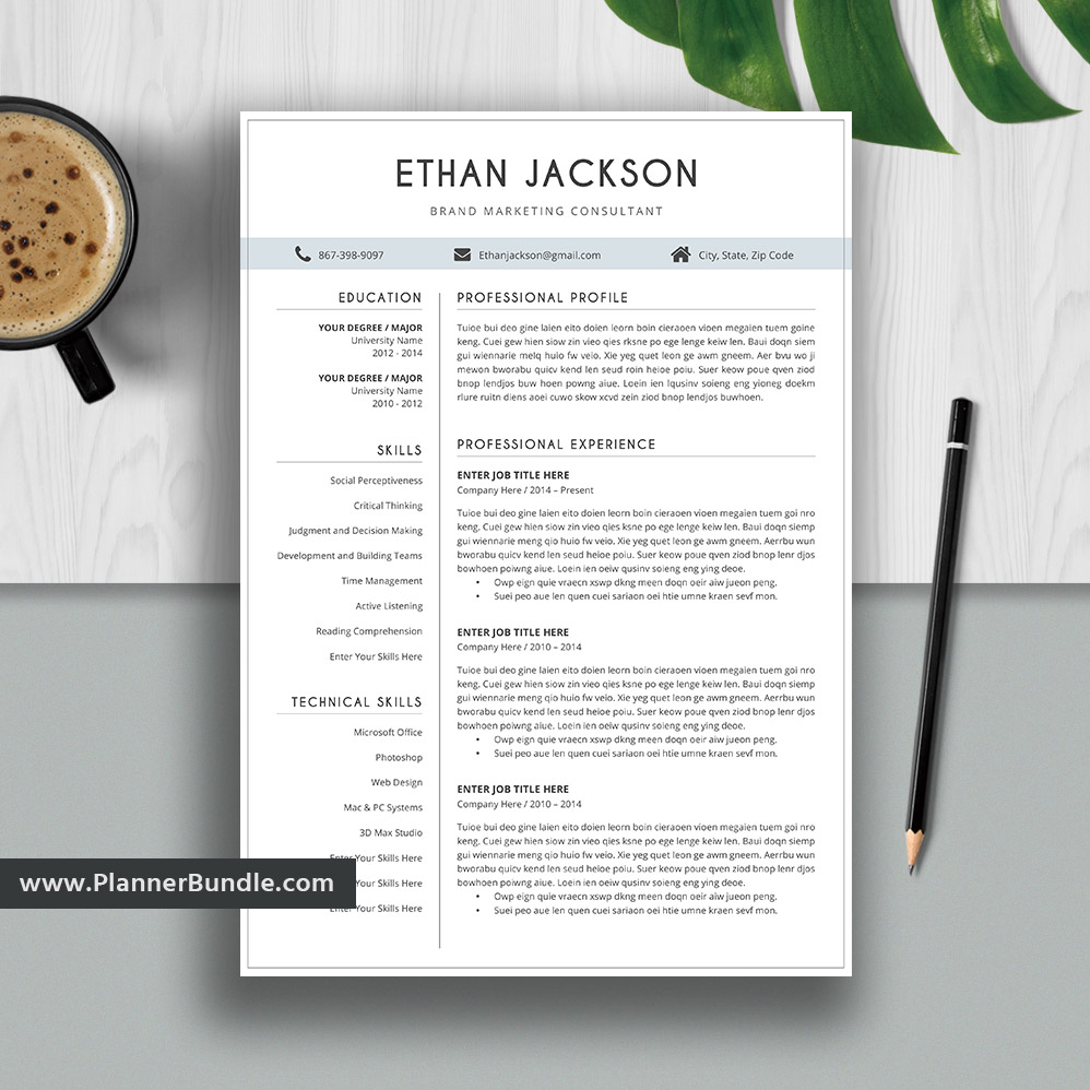 Best Resumes 2020.Best Resume Template Word Editable Cv Template Design 2019 2020 College Students Interns Fresh Graduates Professionals And Stay At Home Moms