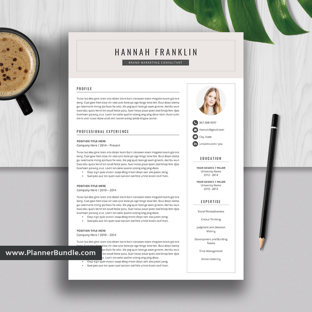 2019 resume templates  creative resume bundle  cv template  ms word  modern and professional