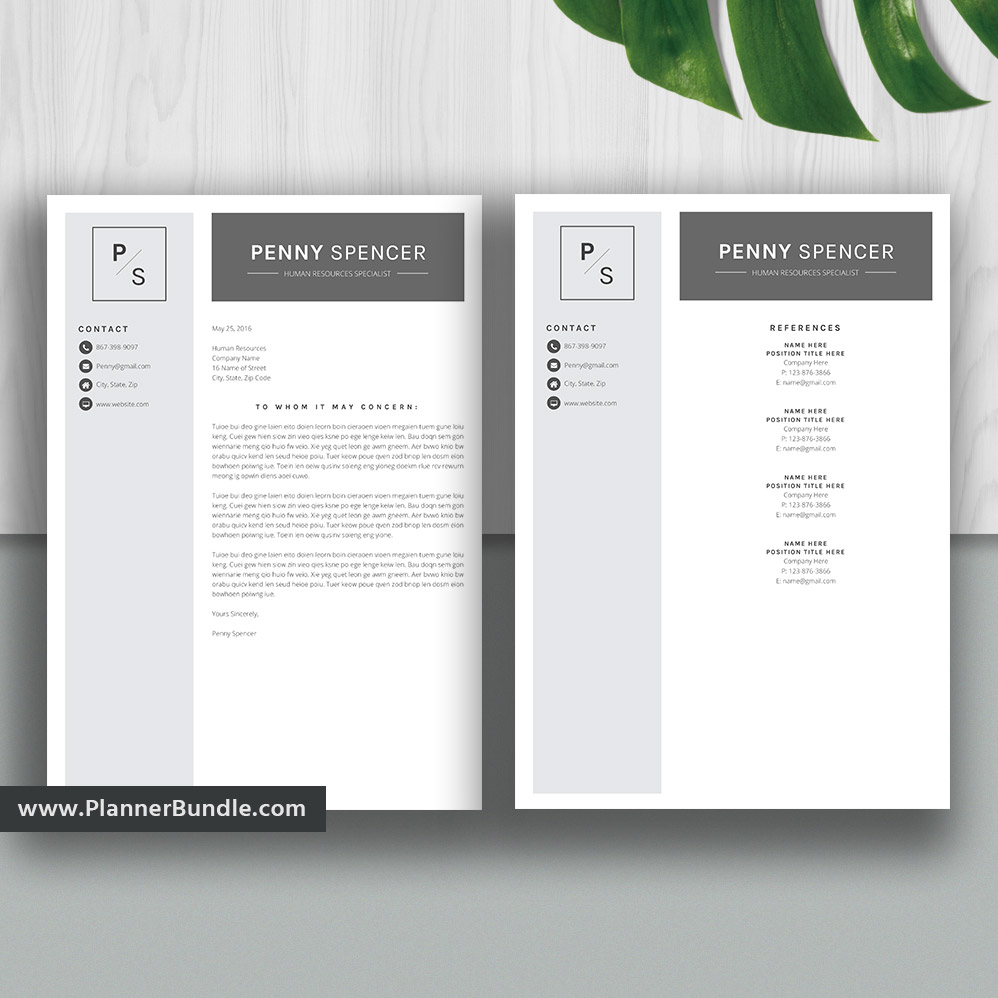 Resume Templates2020, Student Resume Templates, CV, Word Resume Bundle,  Creative & Modern Resume Design, Cover Letter, Instant Download: The  Anthony ...